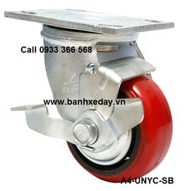 banh-xe-day-cong-nghiep-pu-nylon-1004-cang-xoay-khoa-han-quoc